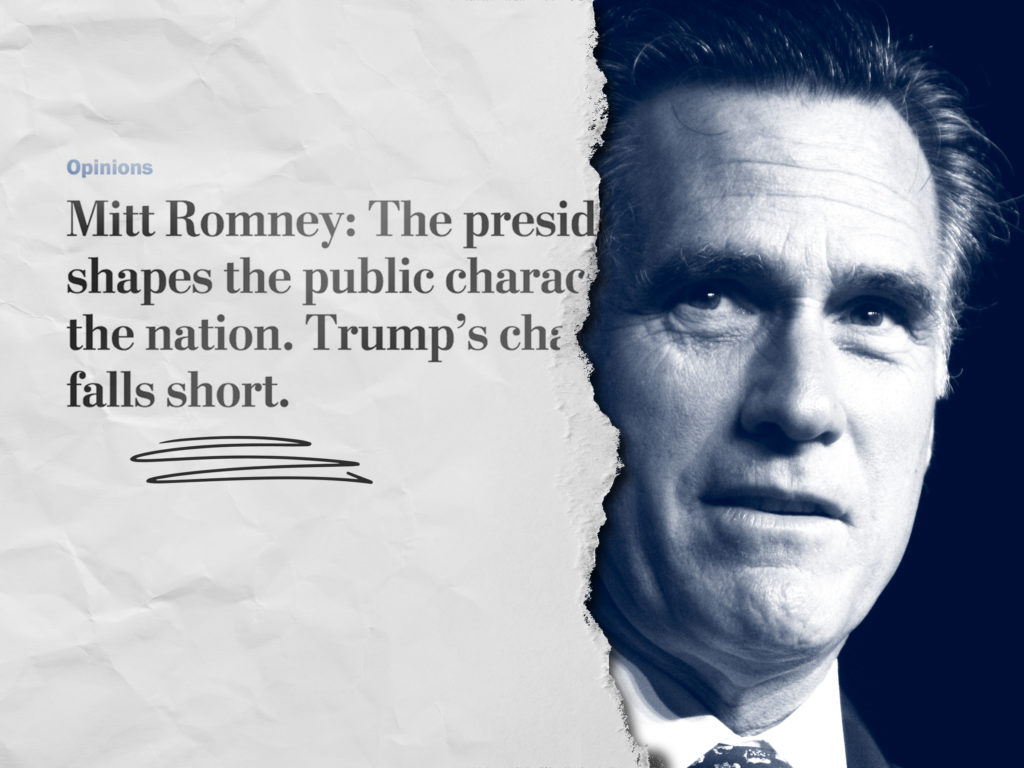 What Romney Exposed About Late-Stage Trumpism