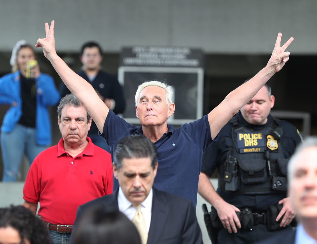 Roger Stone Needs Your Help to Maintain His Standard of Living