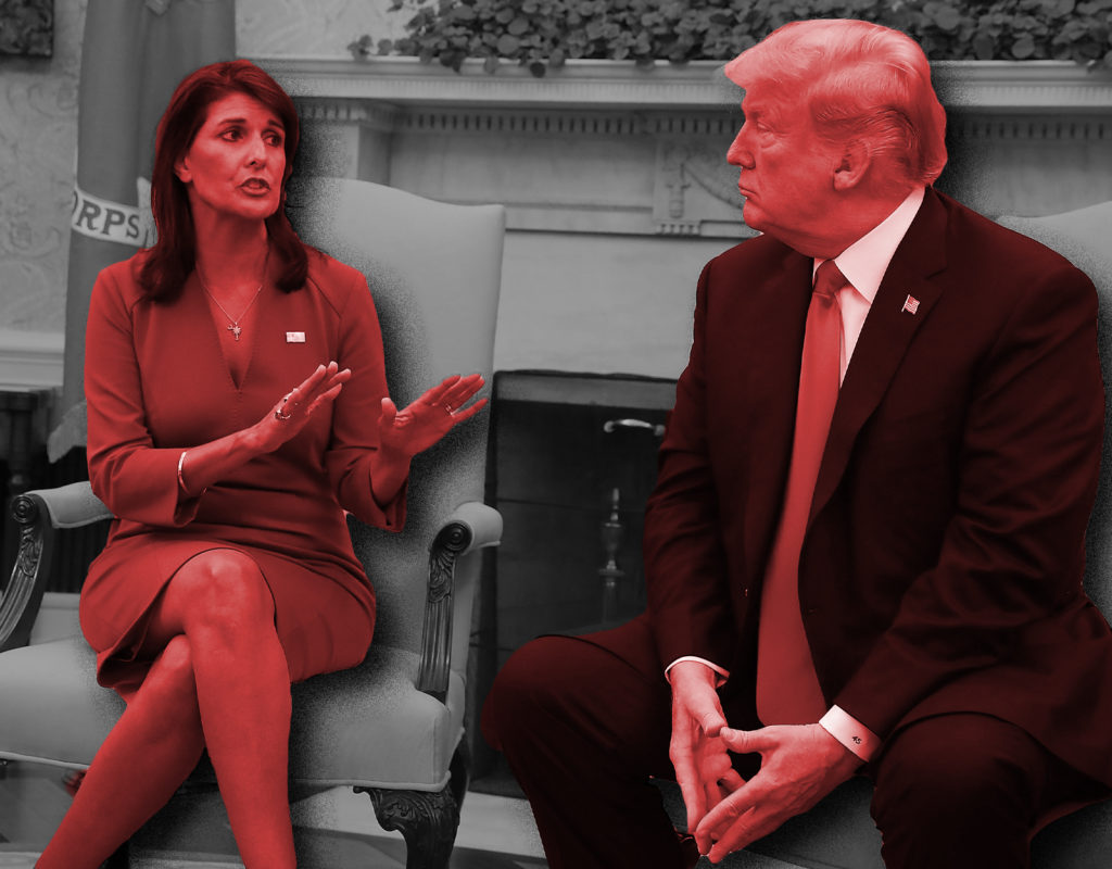 The Haley-Trump Trial Balloon Is Pitiful