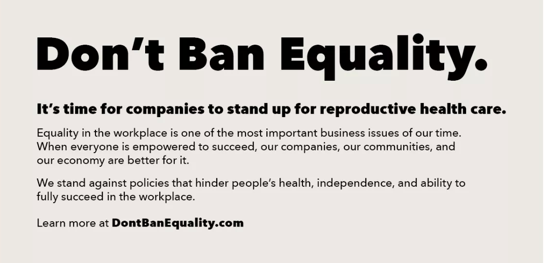 What Corporations Really Mean When They Shout Their Support for Abortion