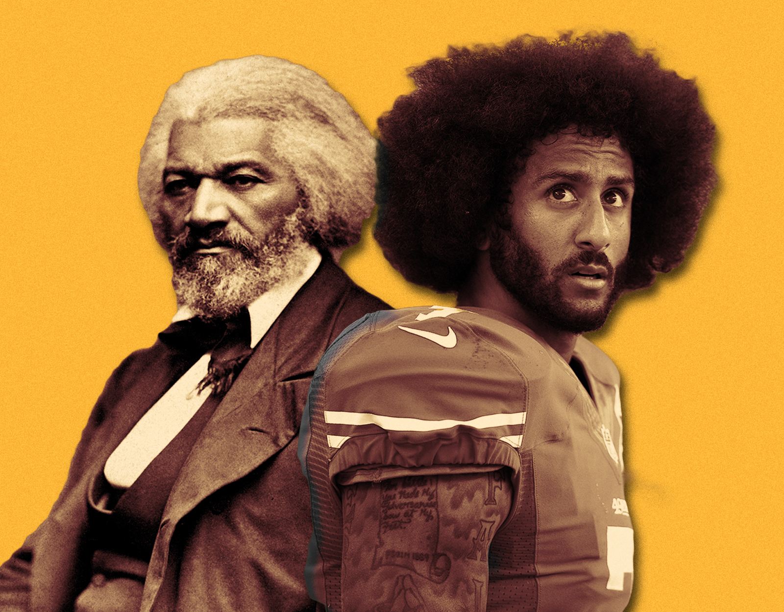The Saving Principles: Colin Kaepernick vs. Frederick Douglass