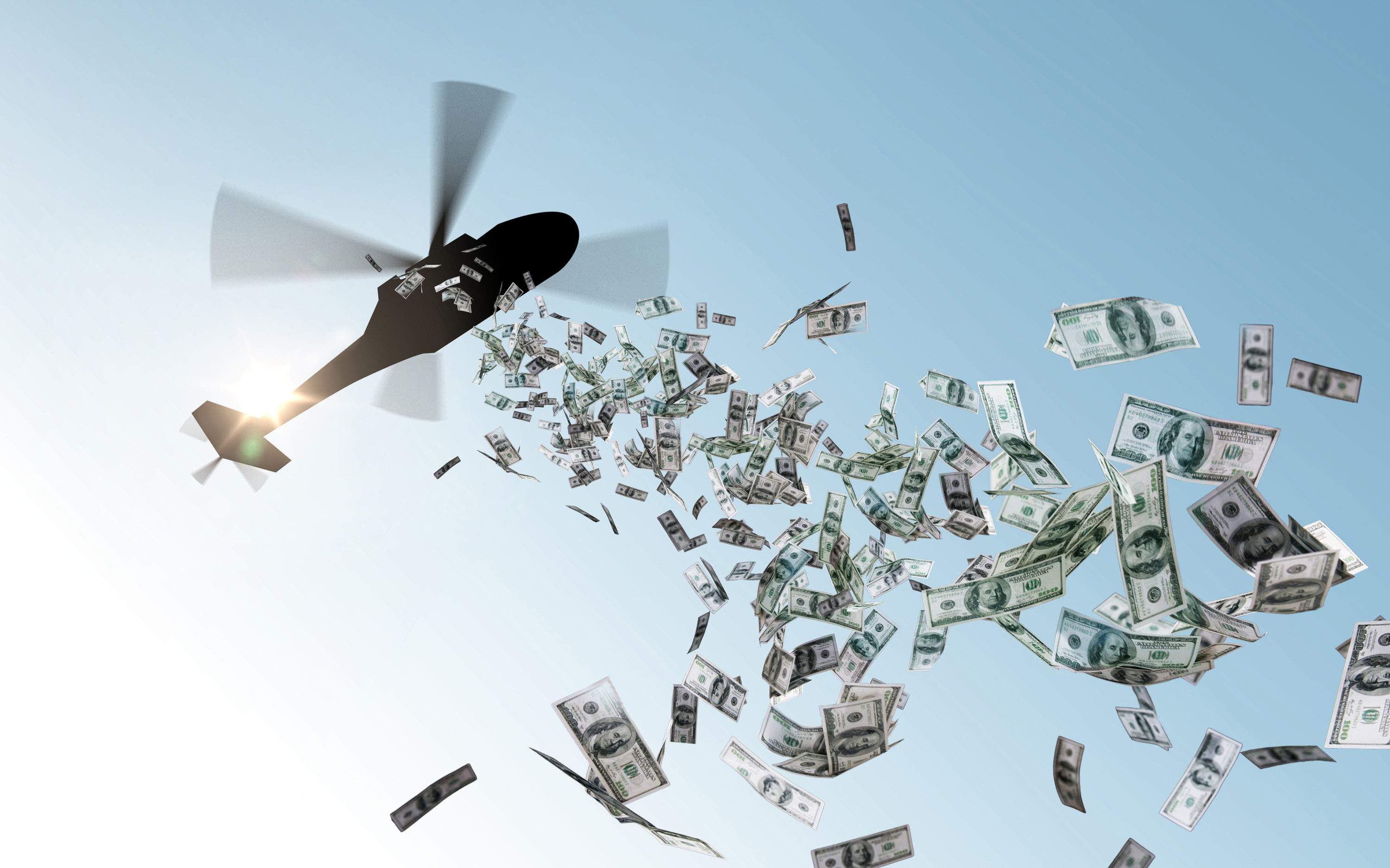 "The Coming Coronavirus Recession Calls for ""Helicopter Money ..."