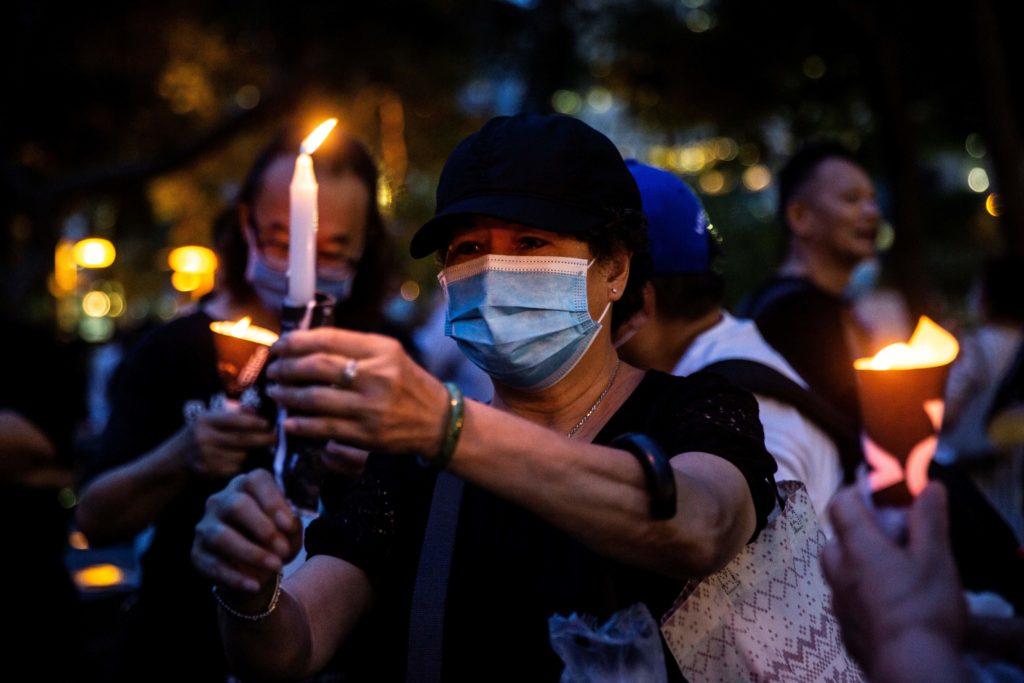 Pompeo meets survivors of Tiananmen crackdown