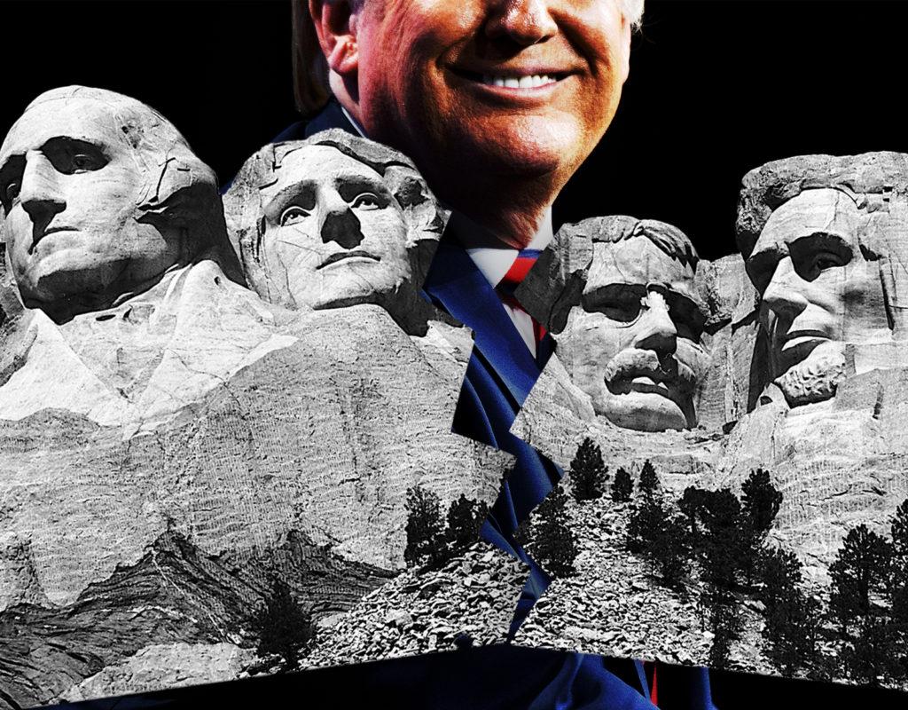 Was Trump's Mount Rushmore Speech Divisive?