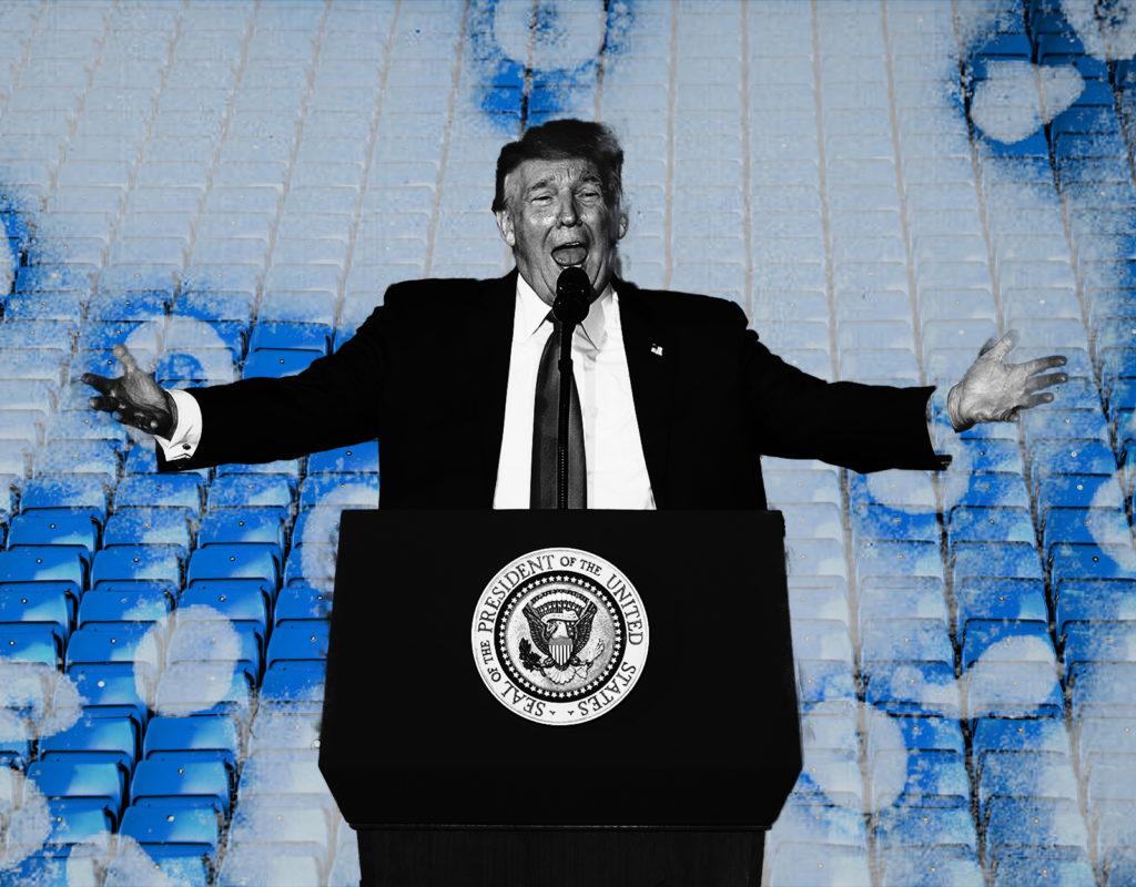 Trump's Magical Thinking Runs Into Reality, Again