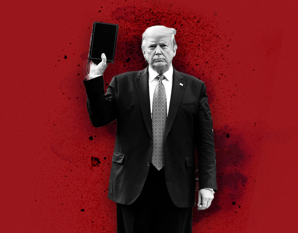 Trump Saying Biden Would 'Hurt the Bible' and 'Hurt God' is the Height of Hypocrisy - The Bulwark