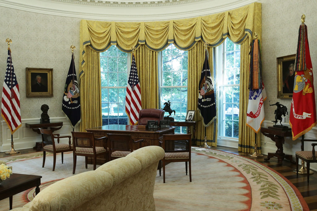 The Absentee President