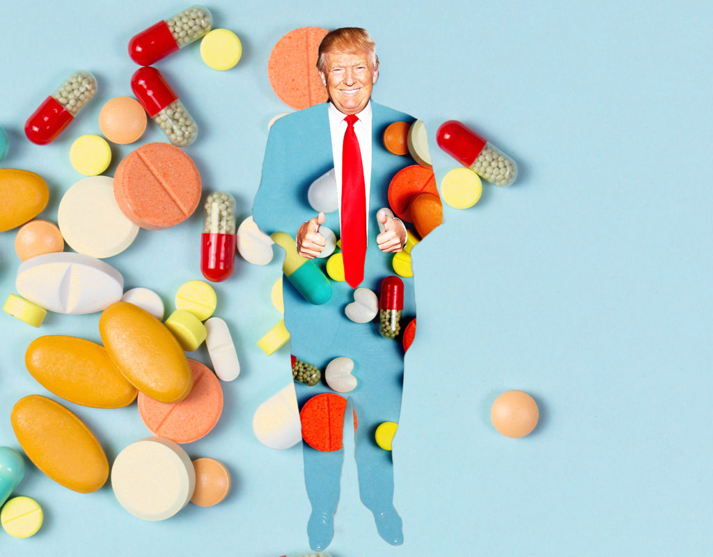 Trump's Desperate, Extraconstitutional, and Probably Illegal Ploy to Lower Drug Prices