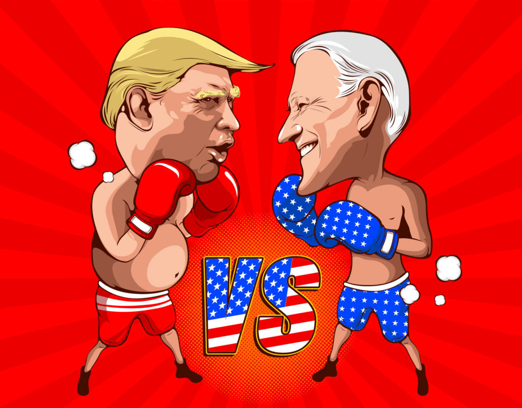 Scaredy Trump Ducks Debate: MAGA Media Hardest Hit