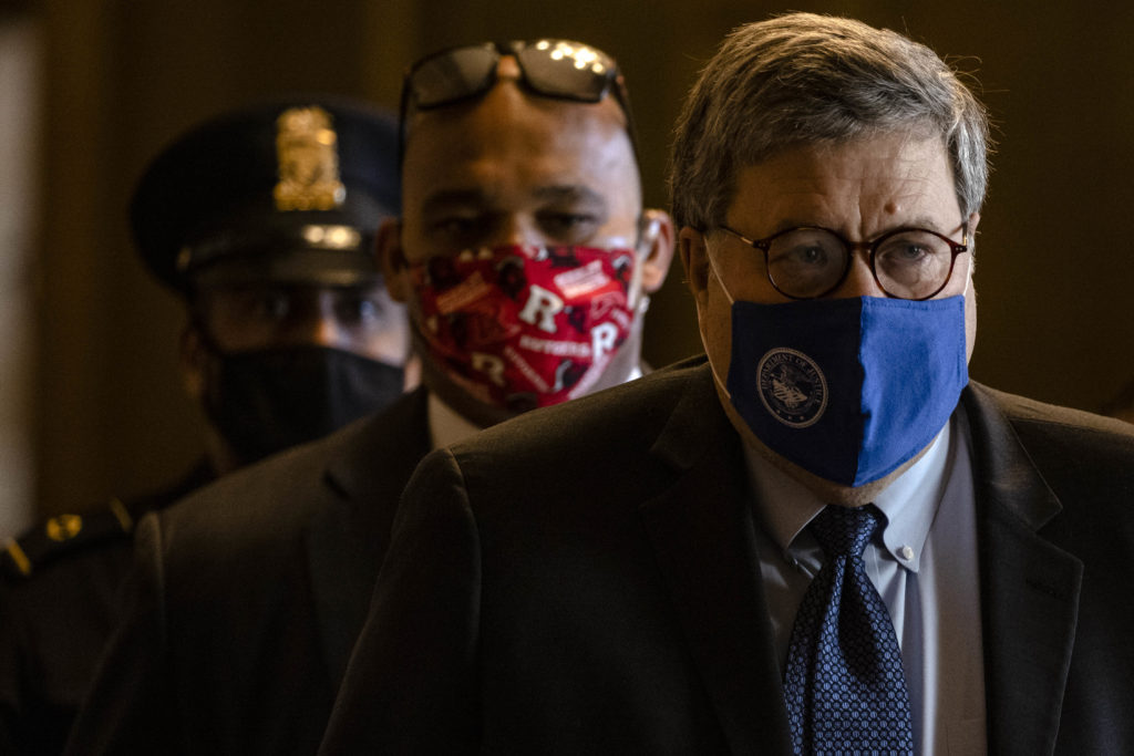 Bill Barr's Election Memo: Justice Delayed