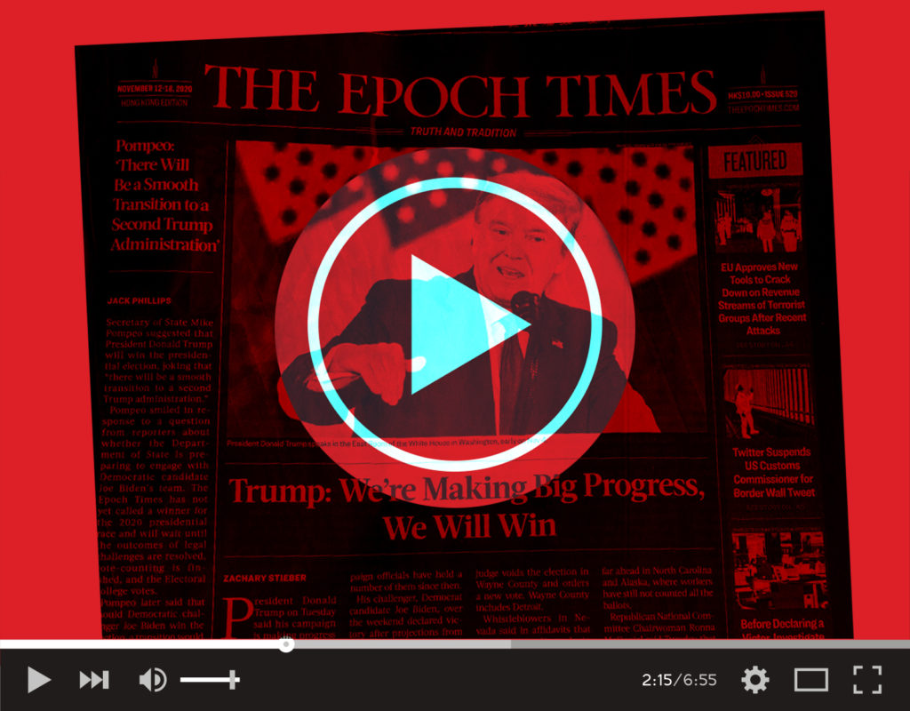 Inside the Epically Murky 'Epoch Times' Ad Campaign