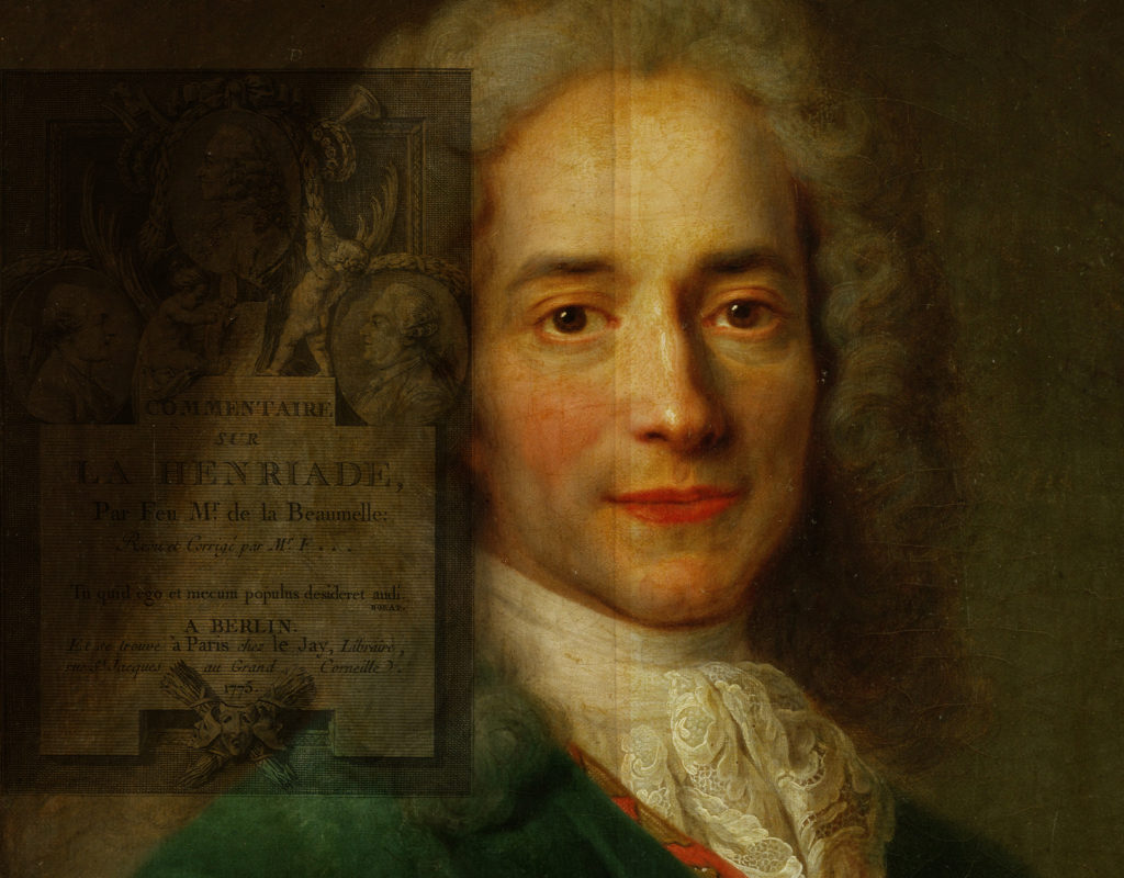 The Origins of a Warning from Voltaire