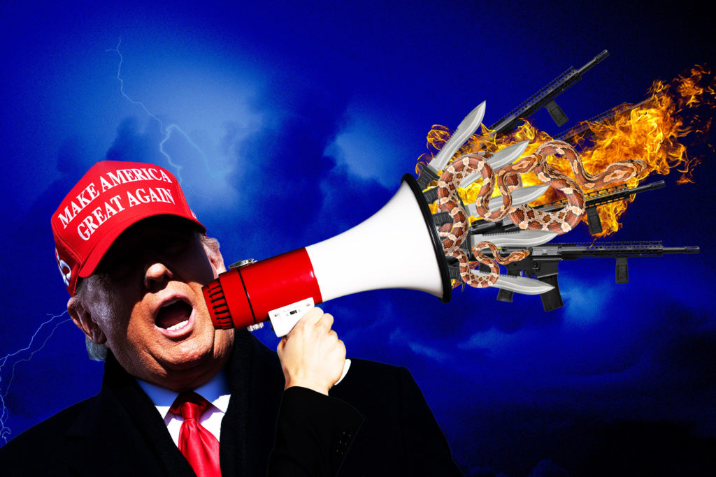 Trump's History of Inciting Violence - The Bulwark