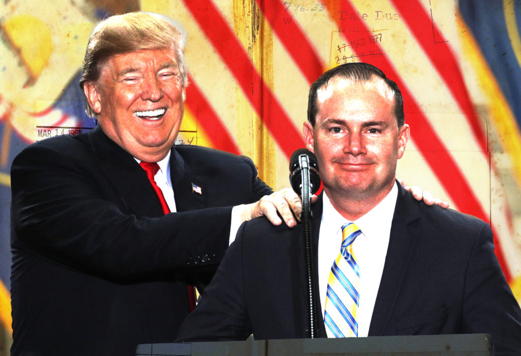 How Mike Lee Ditched Constitutional Conservatism for the Cult of Trump