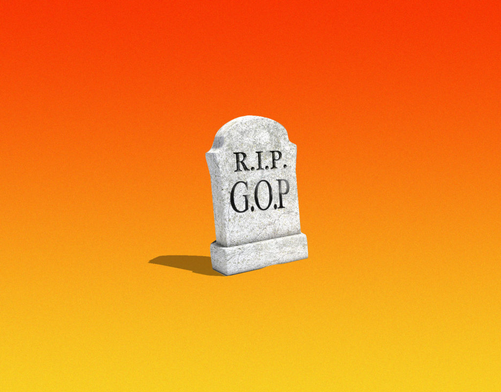 Three States and a Funeral (for the Republican Party)