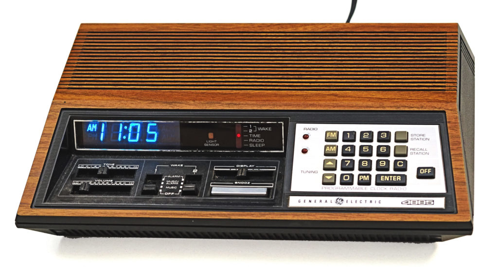 The Clock Radio and Its Moment in Consumer Technology