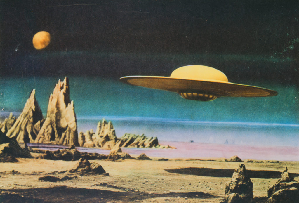 The Last Time There Was a Craze About UFOs and Aliens