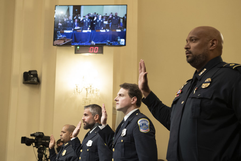 Capitol Cop: Nothing I Saw in Iraq Prepared Me for January 6