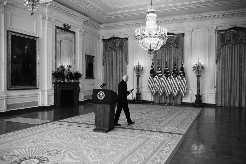 Biden's Disingenuous Speech on the Afghanistan Withdrawal