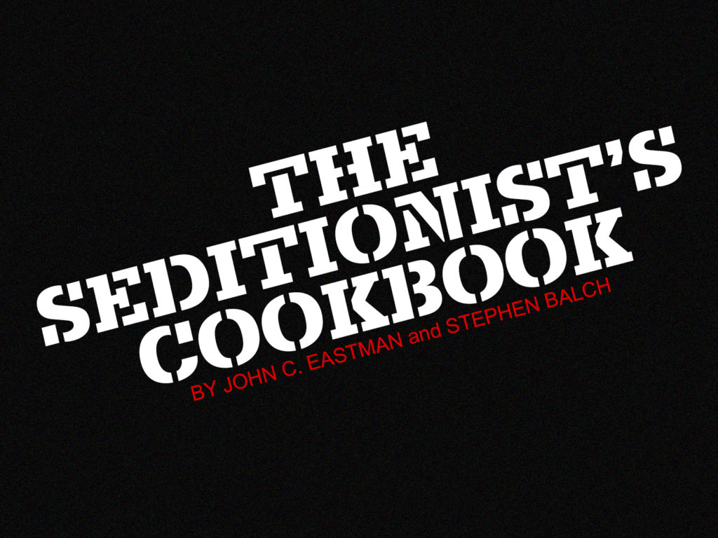 The Seditionist's Cookbook