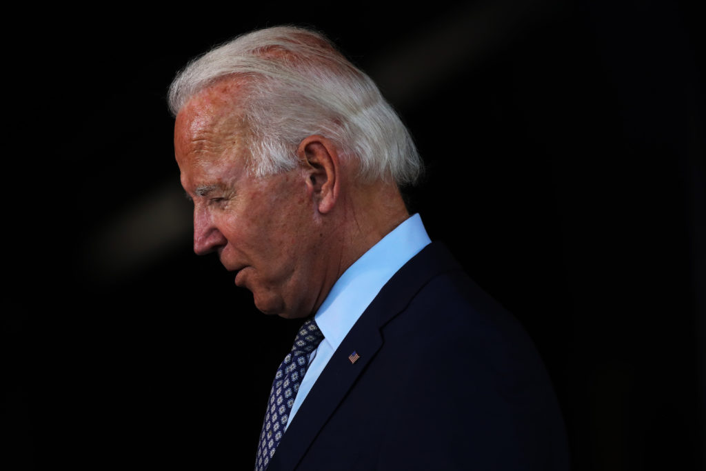 How Far Can Biden's Approval Rating Fall?